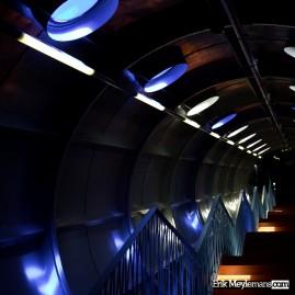 Atomium stairway