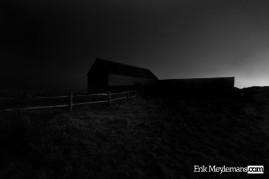Sheep barn at Seaford Head