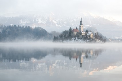 Slovenia in winter - collection