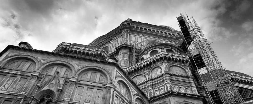 Restoration of the cathedral of Florence