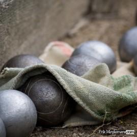 The 'boules' of 'jeu de boules'