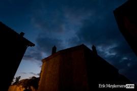 Evening falls in Saint-Auvent