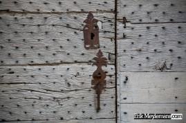 Ornamental door handle and lock
