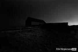 Sheep barn at Seaford Head