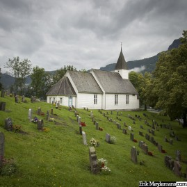 Fjord view cemetery