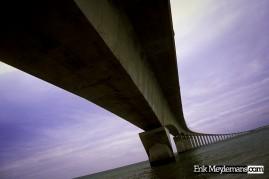 Toll bridge to Ile de Ré