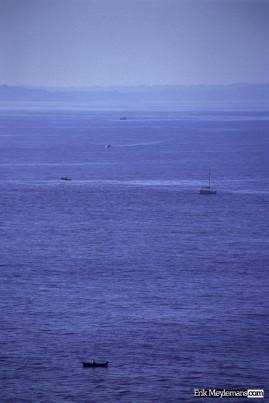 Fishermen between Hendaye and Hondarribia